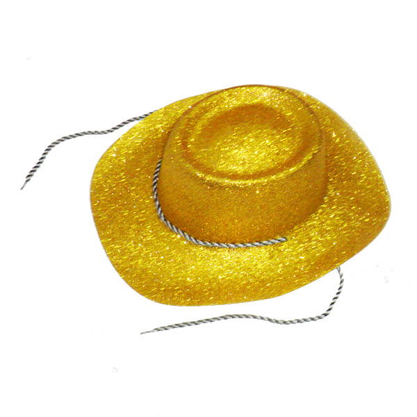 Cappello Lurex Texano Oro adulto