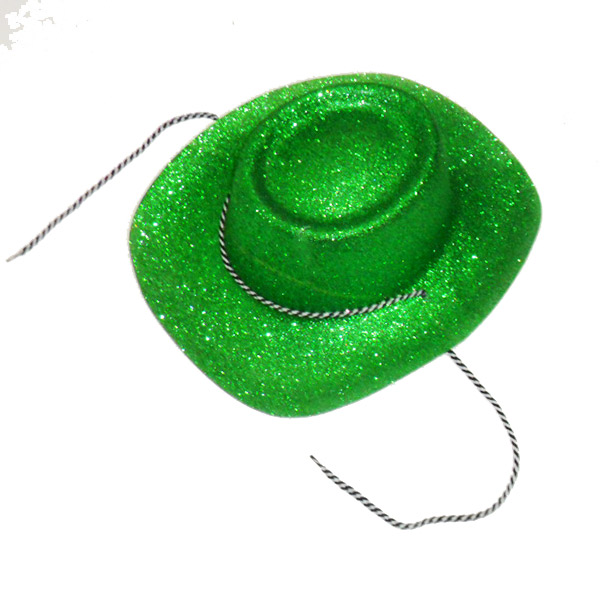 Cappello Lurex Texano Verde adulto
