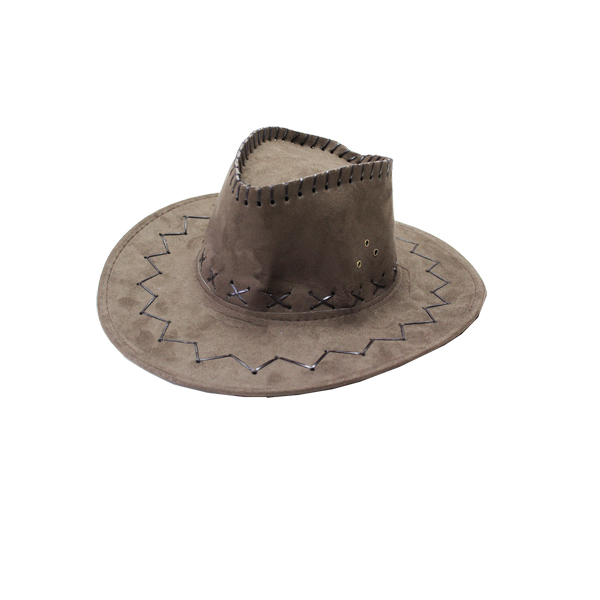 Cappello cow boy marrone